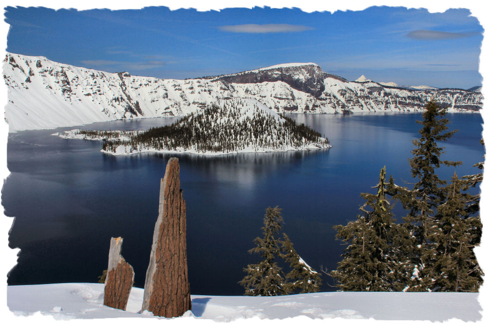 Crater Lake National Park Southern Oregon Recreation